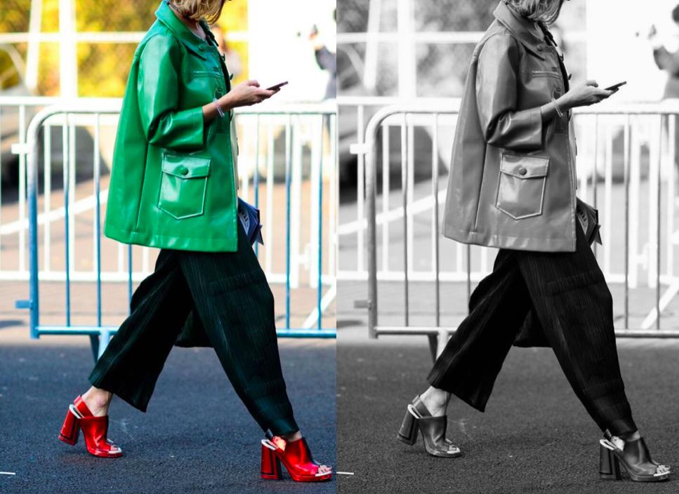 streetstyle, красный и зеленый, светлое и темное, красная обувь