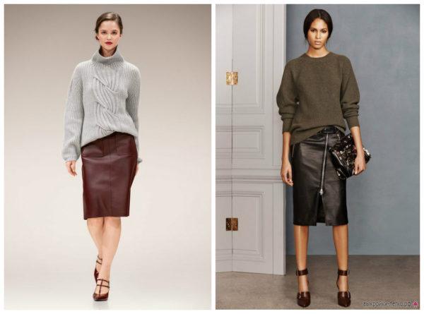 с чем носить юбку карандаш, юбка карандаш с чем носить фото, фото юбки карандаш, с чем носить черную юбку