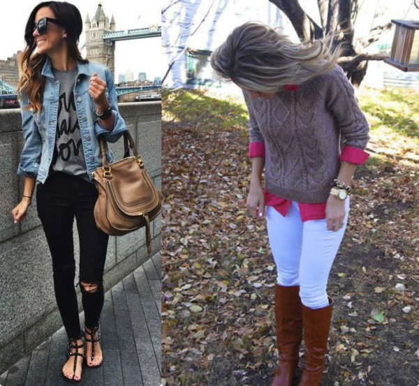 с чем носить джинсы, современные джинсы, модные джинсы, джинсы 2018, устаревшие модели джинс